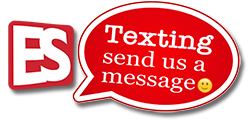 Contact us by text or email easily right now!